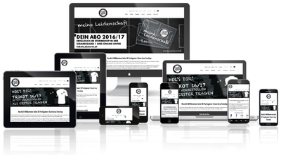 Responsive Screenshot SturmShop